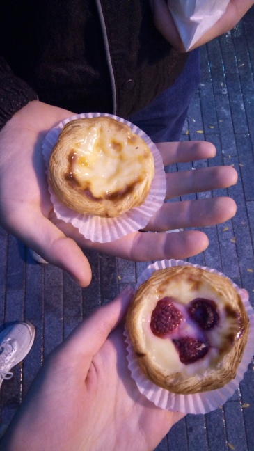 Cute custard tartlets