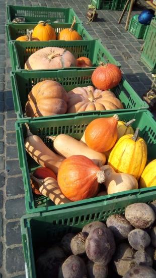 At a market in Nuremburg