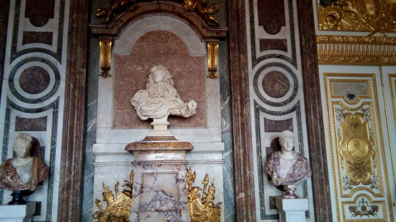 A Bernini sculpture and fabulous marble work