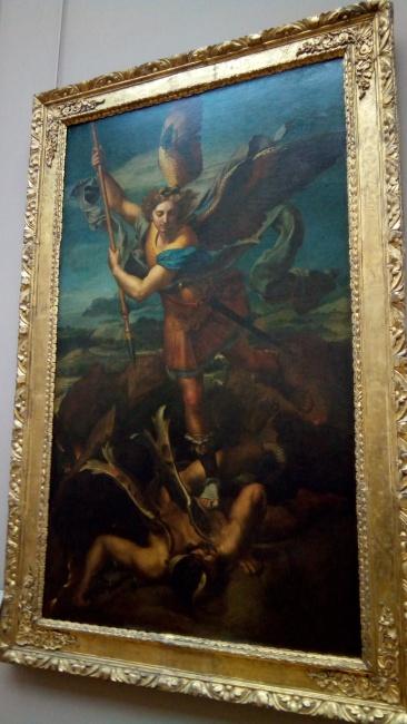 Raphael's St. Michael Vanquishing Satan