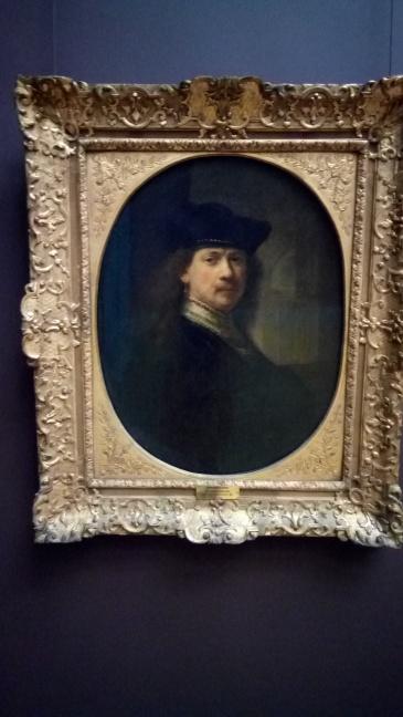 Rembrandt's famous self-portrait