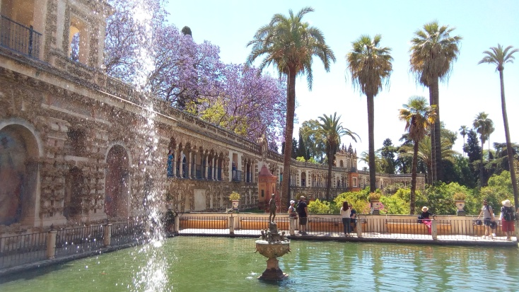 The jaw-dropping Alcazar gardens
