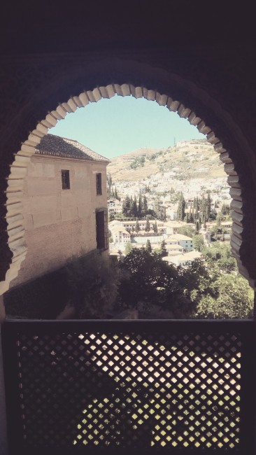 View from a gorgeous Alhambra window