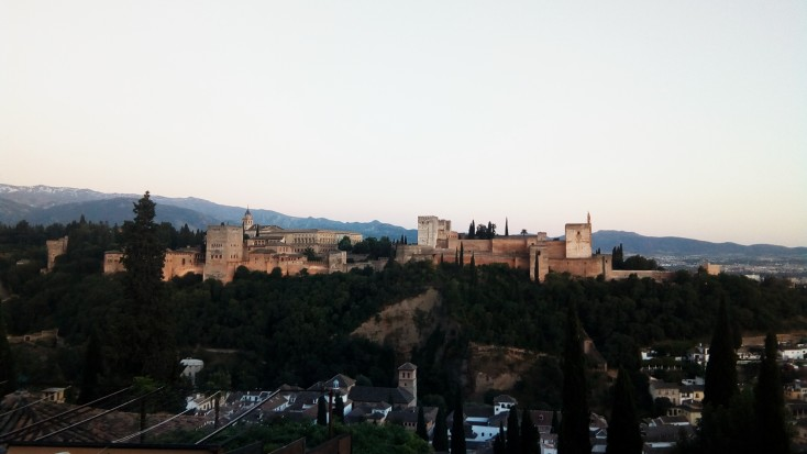 The Alhambra from Mirador de San Nicolas