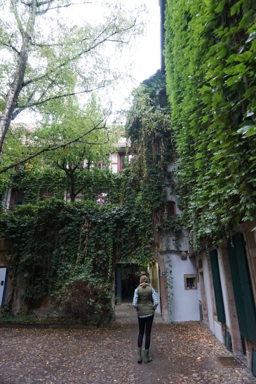 Wandering through the alleyways...
