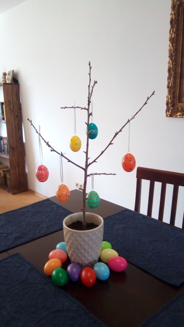 We didn't have a small dead tree outside, so....