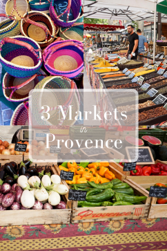 3 Markets in Provence