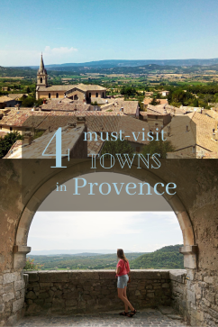 4 Towns in Provence
